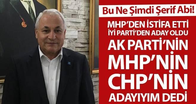 Samsun'da İYİ Parti Kavak Adayı Şerif Ün Dört Partinin Adayı Olduğunu Söyledi