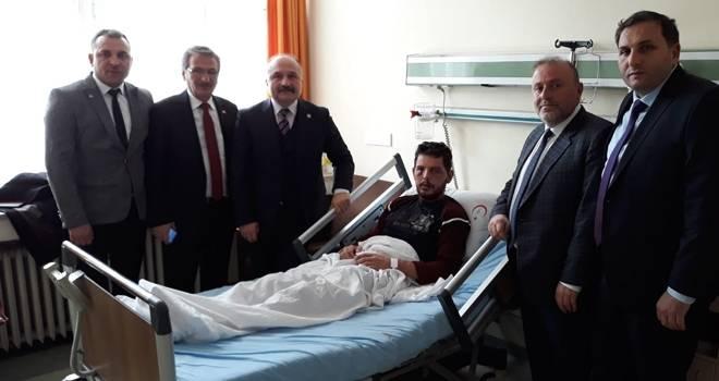 Milletvekili Usta'dan Hasta Ziyareti