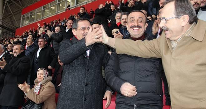 Mustafa Demir: Şampiyonluk yolunda emin adımlarla ilerliyoruz