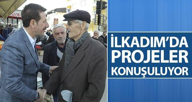 Başkan Tok: İlkadım'da Projeler Konuşuluyor