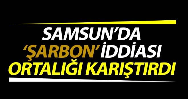 Samsun'da Şarbon İddiası Ortalığı Karıştırdı