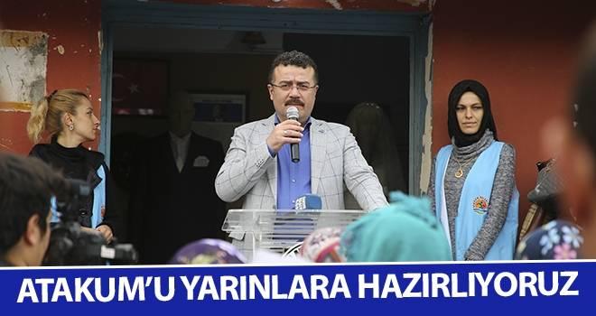 Başkan Taşçı: Atakum'u yarınlara hazırlıyoruz