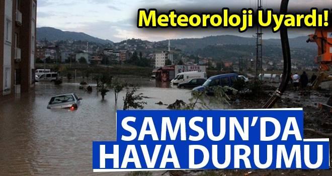 4 Ağustos Samsun'da Hava Durumu