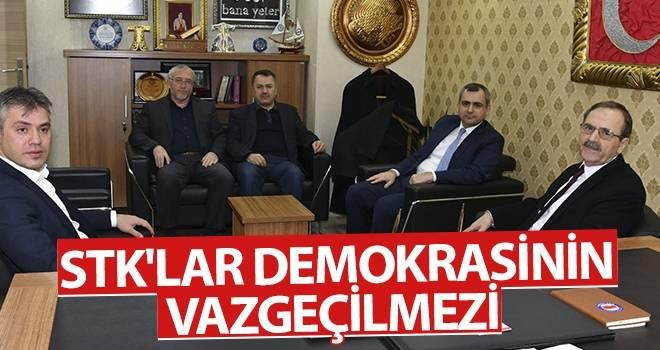 Başkan Şahin: STK'lar demokrasinin vazgeçilmezi