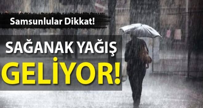 2 Ekim Samsun'da Hava Durumu