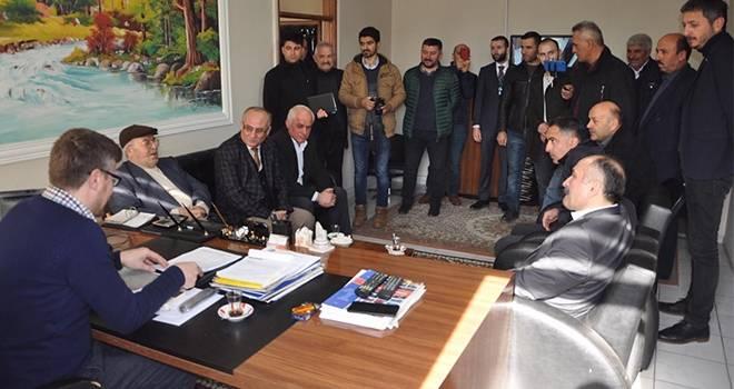 Erhan Usta'dan Çarşamba Ziyareti