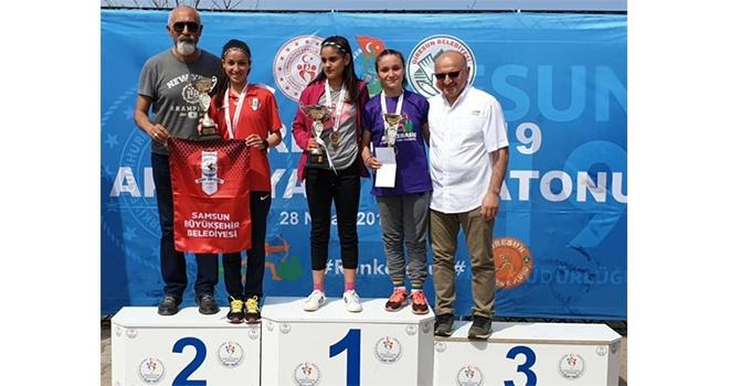 Gülşen Kılınç Yarı Maraton ikincisi oldu