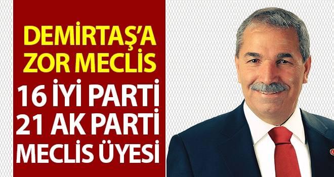 İlkadım Belediye Başkanı Necattin Demirtaş'a Zor Meclis