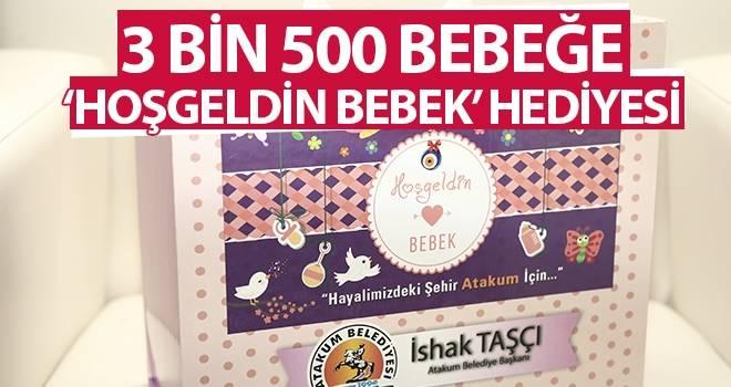 3 bin 500 bebeğe 'Hoşgeldin Bebek' hediyesi