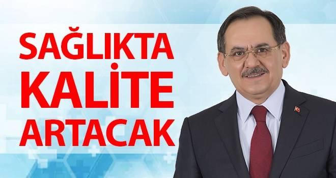 Mustafa Demir: Sağlıkta kalite artacak
