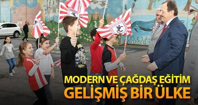 Başkan Şahin: Modern ve Çağdaş Eğitim, Gelişmiş Bir Ülke