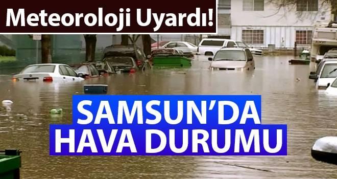 2 Ağustos Samsun'da Hava Durumu