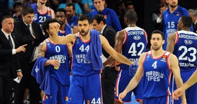 Euroleague tarihinde bir ilk! Fenerbahçe Beko'nun ardından Anadolu Efes de Final Four'da
