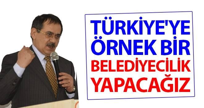 Demir: Türkiye'ye Örnek Bir Belediyecilik Yapacağız