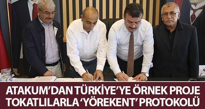 Atakum'dan Türkiye'ye örnek proje Tokatlılarla 'Yörekent' protokolü