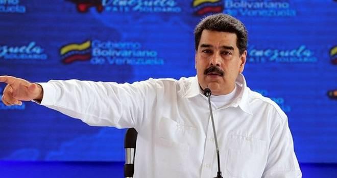 Maduro'dan Trump şantajına sert cevap