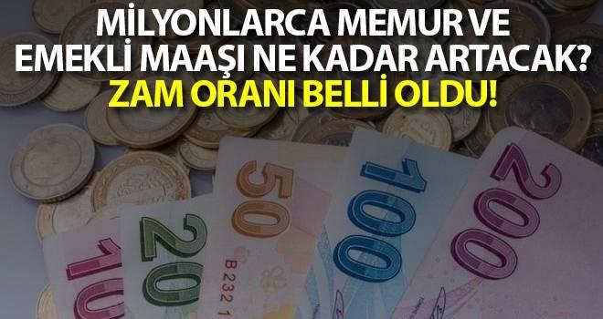 Enflasyon rakamları açıklandı! Milyonlarca memur ve emekli maaşı ne kadar artacak? Zam oranı belli oldu!