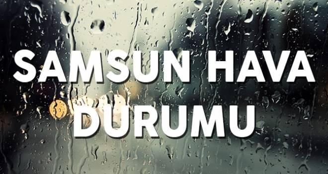 23 Kasım Samsun'da Hava Durumu
