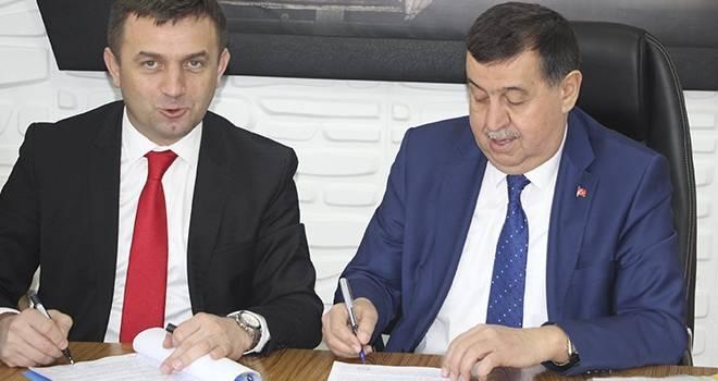 Havza Belediyesi ve Hizmet-İş Sendikası arasında 2 yıllık toplu iş sözleşmesi imzalandı