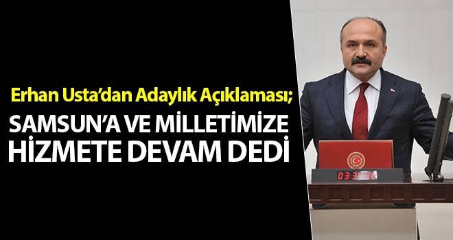 Erhan Usta 'dan son dakika açıklaması..