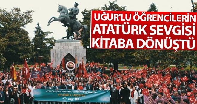 Uğur'lu Öğrencilerin Atatürk Sevgisi Kitaba Dönüştü