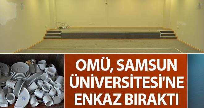 OMÜ, Samsun Üniversitesi'ne Enkaz Bıraktı