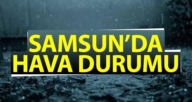14 Nisan Samsun'da Hava Durumu