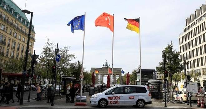 Almanya Başkan Erdoğan'ı bekliyor! Cadde ve meydanlar bayraklar süslendi
