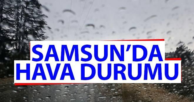 30 Eylül Samsun'da Hava Durumu