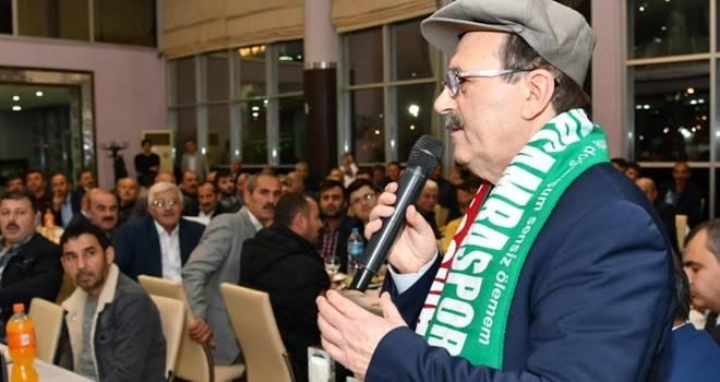 Zihni Şahin Çarşamba'da sivil toplum kuruluşları ile buluştu