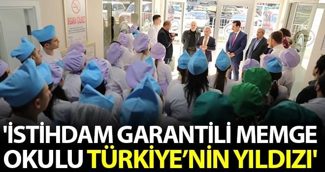 'İstihdam garantili MEMGE Okulu Türkiye'nin Yıldızı'