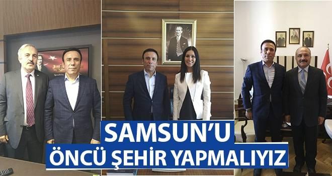 Başkan Genç: Samsun'u öncü şehir yapmalıyız