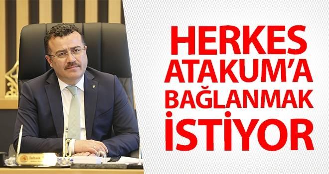 Başkan Taşçı: Herkes Atakum'a bağlanmak istiyor