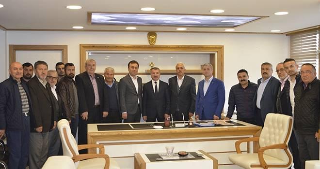AK Parti Havza İlçe Teşkilatından Başkan Özdemir'e Ziyaret