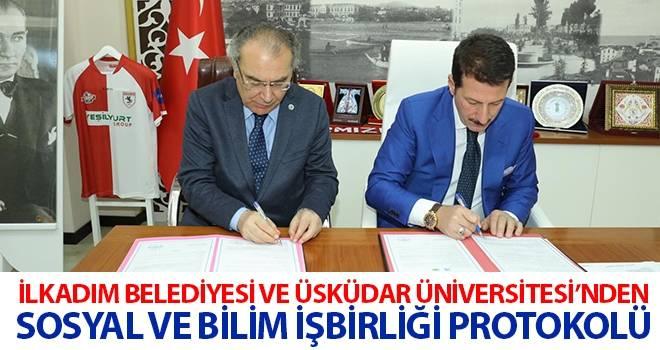 İlkadım Belediyesi ve Üsküdar Üniversitesi'nden Sosyal ve Bilim İşbirliği Protokolü