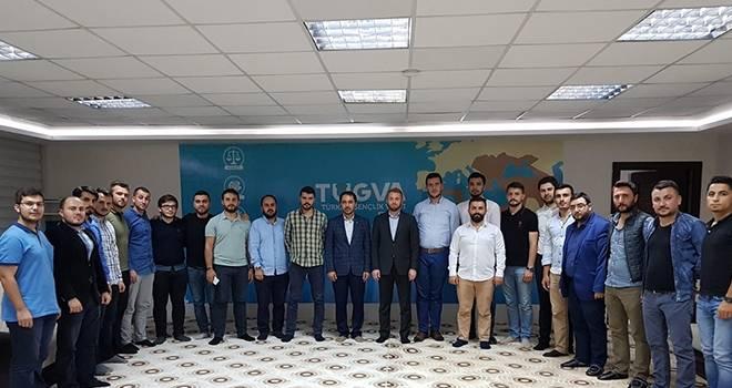 AK Parti Gençlik Kolları'ndan Sivil Toplum Kuruluşlarına Ziyaret