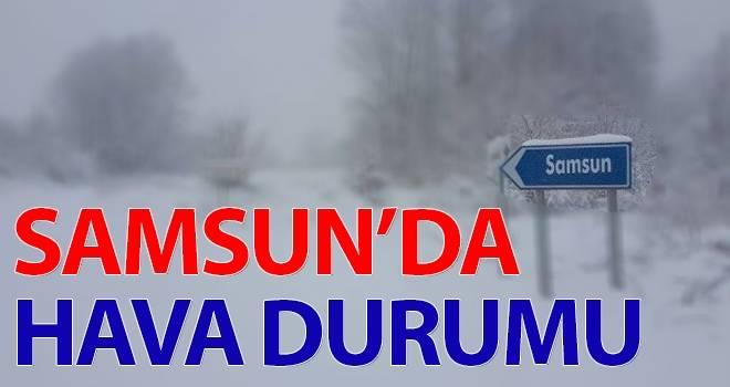 8 Ocak Samsun'da Hava Durumu