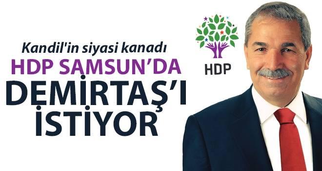 HDP'den İlkadım'da Necattin Demirtaş'a destek sinyali...
