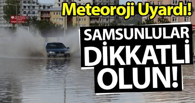 9 Ağustos Samsun'da Hava Durumu