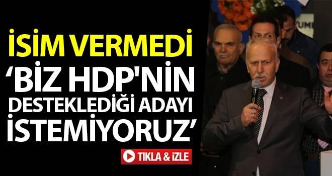 MHP Samsun İl Başkanı Karapıçak: Biz HDP'nin Desteklediği Adayı İstemiyoruz
