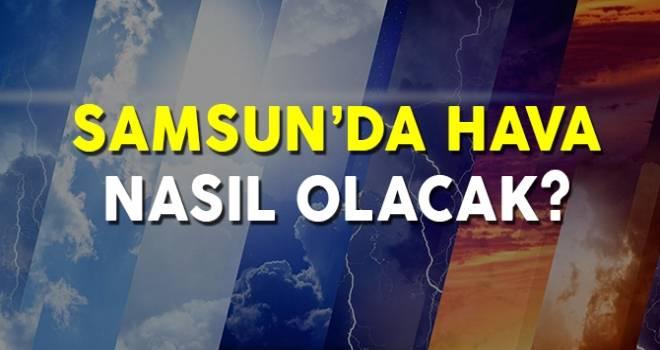 24 Kasım Samsun'da Hava Durumu