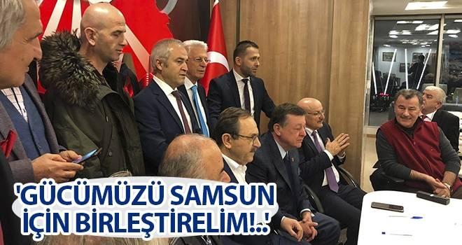 Başkan Şahin: 'Gücümüzü Samsun için birleştirelim!..'