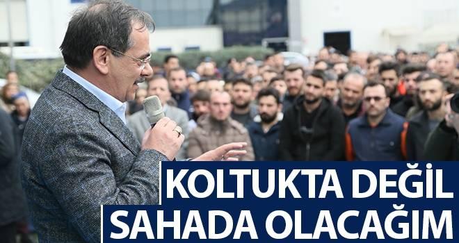 Mustafa Demir: Koltukta Değil Sahada Olacağım