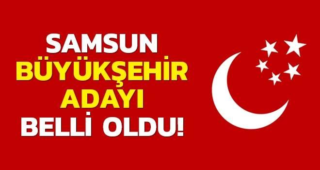Saadet Partisi Samsun Büyükşehir Belediye Başkan Adayı Belli Oldu..!