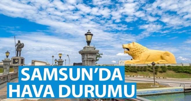 8 Ekim Samsun'da Hava Durumu