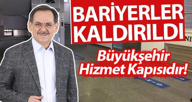 Başkan Demir: Büyükşehir Hizmet Kapısıdır!