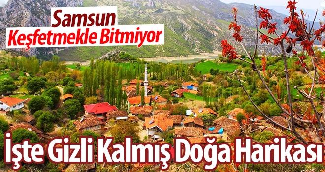 Samsun'da Gizli Kalmış Doğa Harikası