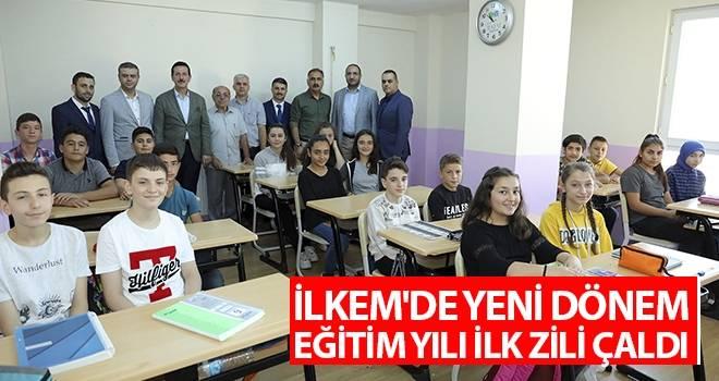 İLKEM'de Yeni Dönem Eğitim Yılı İlk Zili Çaldı