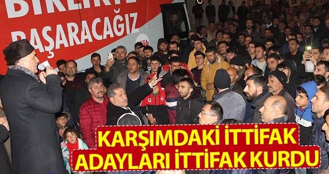 Erhan Usta: Karşımdaki İttifak Adayları İttifak Kurdu