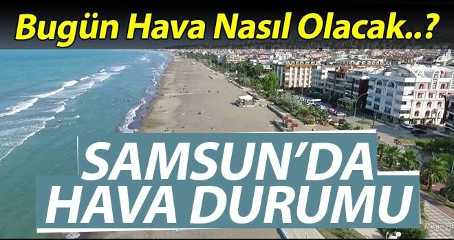 12 Ağustos Samsun'da Hava Durumu